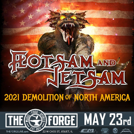 Flotsam and Jetsam, Wrath, Creep, Spare Change at The Forge