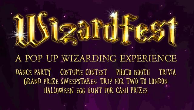 "Wizardfest, A ""Harry Potter"" Themed Pop-Up Party"