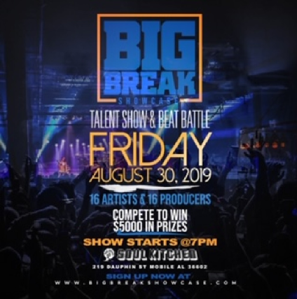 Big Break Showcase Talent Search & Beat Battle