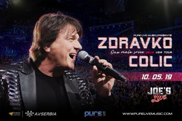 Zdravko Ćolic at Joe's Live Rosemont