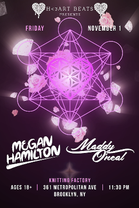 Image result for H<3art Beats Presents: Megan Hamilton, Maddy O'Neal