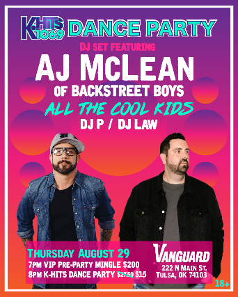 106.9 Khits Dance Party Feat. Aj McLean of Backstreet Boys