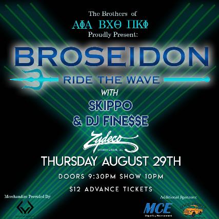 Broseidon w/ Skippo & DJ Fine$$e