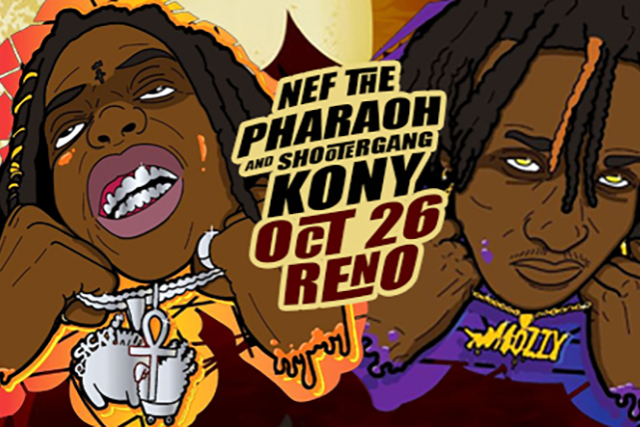 Nef the Pharaoh, Shootergang Kony