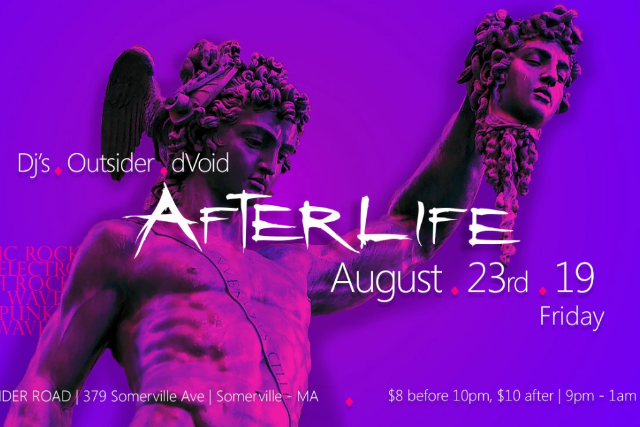 Afterlife Goth Night, DJ Outsider, DJ dVoid