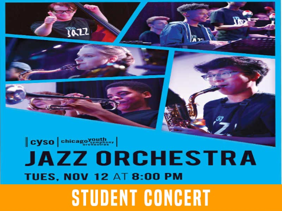 Chicago Youth Symphony Orchestra: Jazz Orchestra at Wire