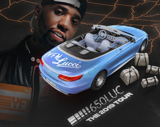 Tickets for YFN Lucci – 650LUC Tour | TicketWeb - Bottom