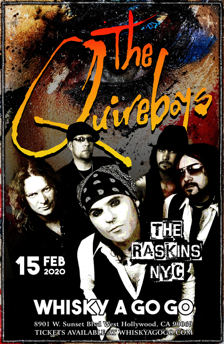 The Quireboys, D-Day, Darkhorse Rising, RDG, Civil strife, The Raskins