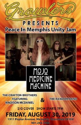 "Mojo Medicine Machine ""Peace in Memphis Unity Jam"""