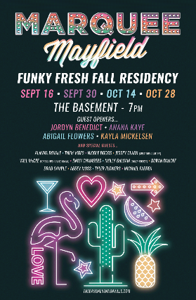 Marquee Mayfield Funky Fresh Fall Residency