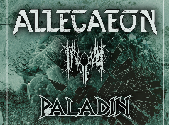 Allegaeon, Inferi, Paladin, Black Passage at Oakland Metro