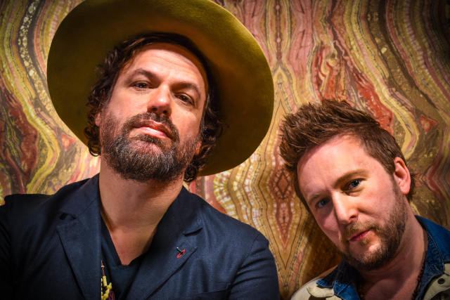 Michael Glabicki Of Rusted Root , with Dirk Miller
