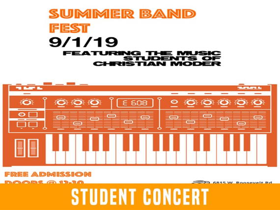 Summer Band Fest featuring The Music of Christian Moder