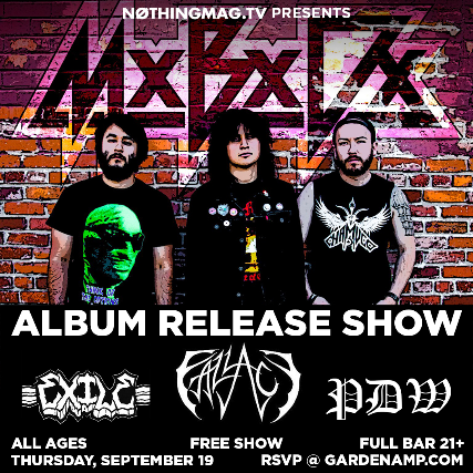 Massive Brain Damage, Fallacy, Exile, PDW (Free Show)