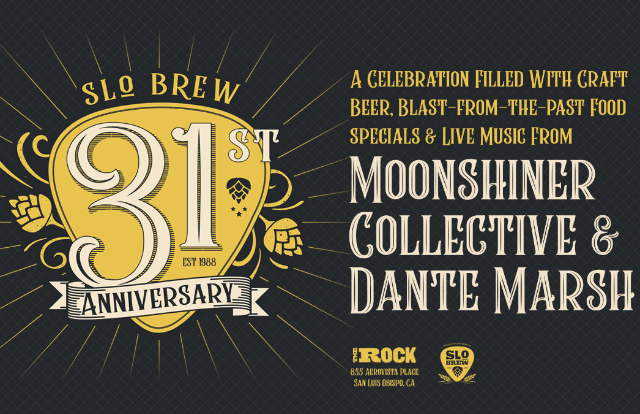 SLO Brew 31st Anniversary Party