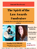 The Spirit of the Law Awards Fundraiser w/ Headliner Liam Breunle and Host Theo Manhattan