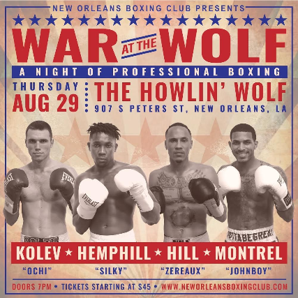 War at the Wolf: A Night of Professional Boxing