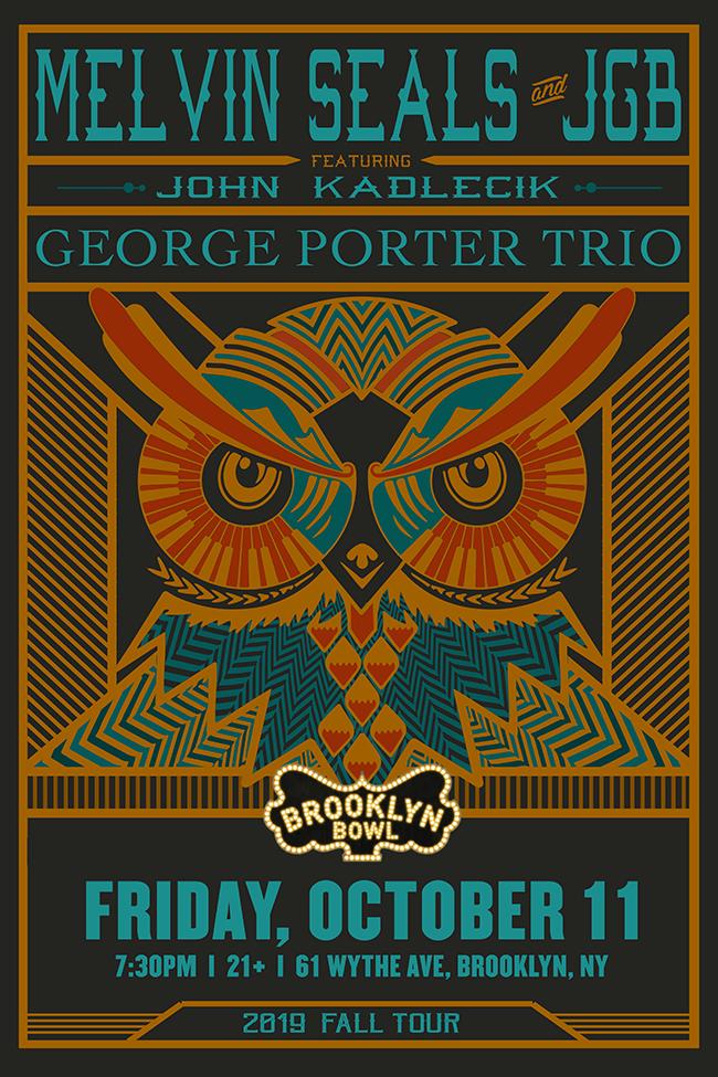 Melvin Seals and JGB featuring John Kadlecik + George Porter Trio