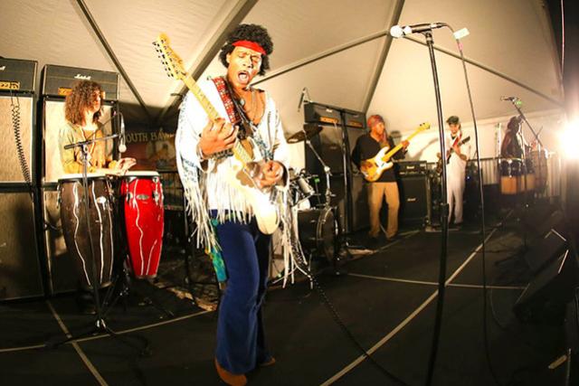 Kiss The Sky - Performs Jimi Hendrix's Woodstock Set w/ special guest Juma Sultan Original Hendrix Woodstock Percussionist