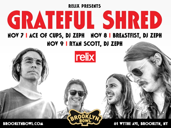 More Info for Grateful Shred 3 Night Pass!
