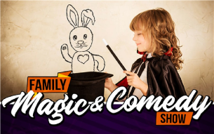 Magic & Comedy for ALL Ages