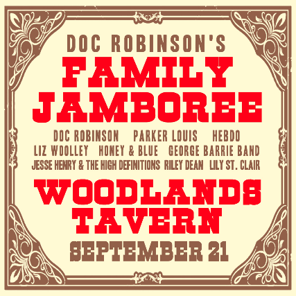 Doc Robinson's Family Jamboree at Woodlands Tavern / Presented by 90.5 WCBE