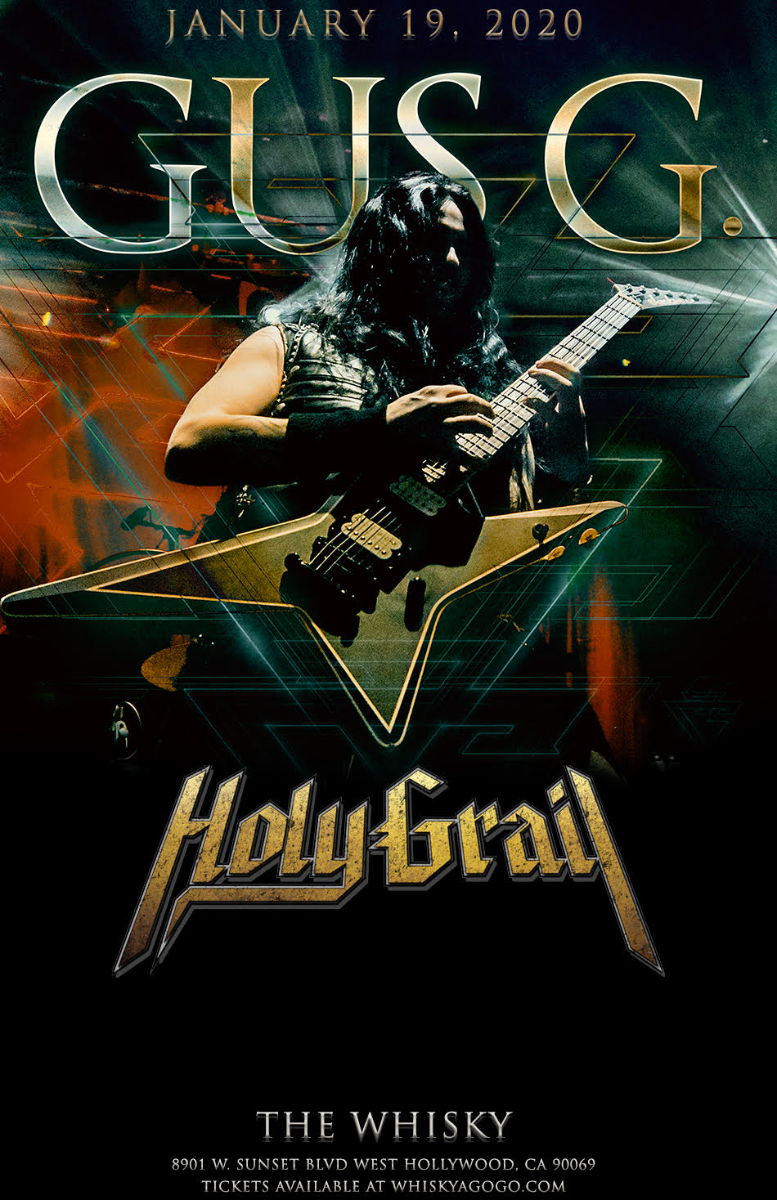 Gus G, Holy Grail, Luis Kalil, Attraction Theory, Seb Braganza
