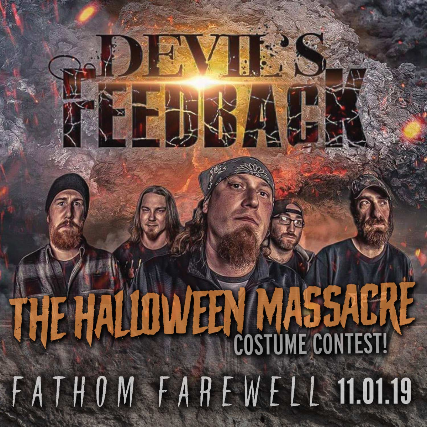 Devil's Feedback Halloween Party at FMH
