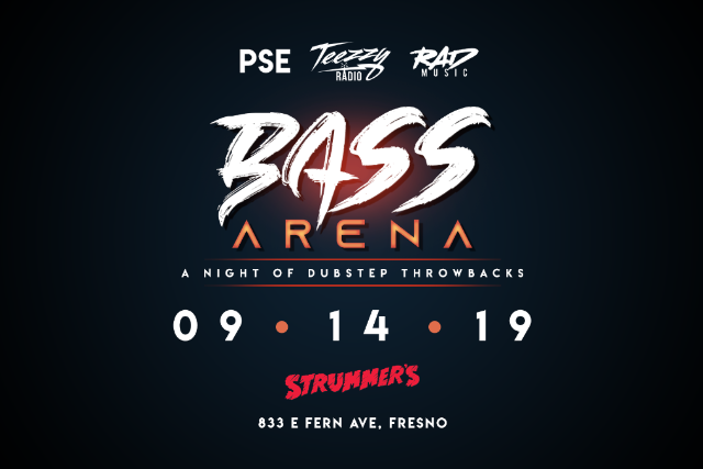 BASS ARENA - A Night of Dubstep Throwbacks at Strummer's