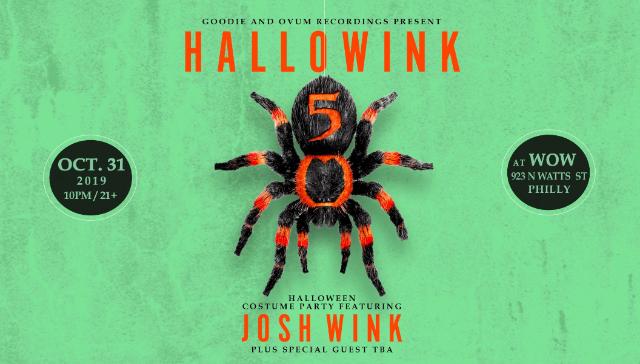 Josh Wink  Hallowink 5 party ile ilgili görsel sonucu
