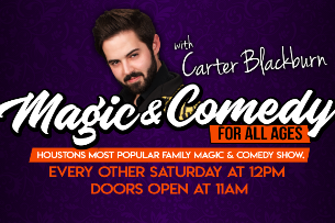 Magic & Comedy For All Ages with Carter Blackburn