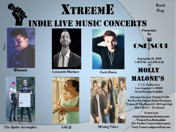 Xtreme Indie Live Music Concerts