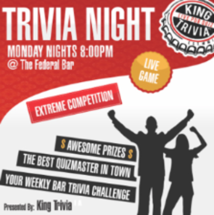 Tickets for King Trivia Night | TicketWeb - The Federal in
