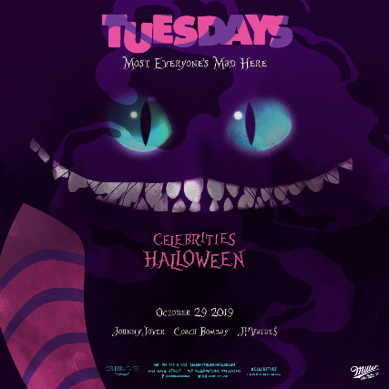 Halloween 2019.Ticket For Tuesdays Halloween 2019