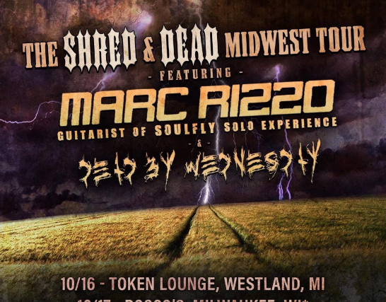 Marc Rizzo w/ Dead By Wednesday