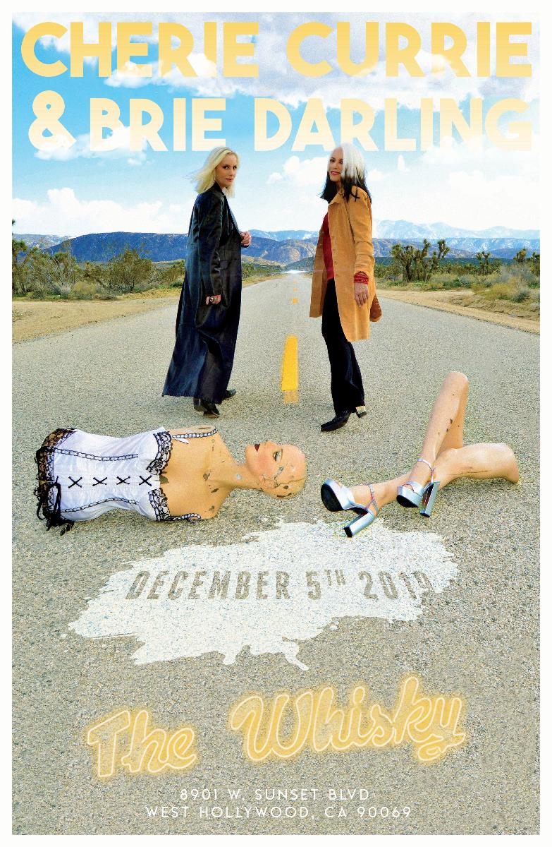 Cherie Currie & Brie Darling, The Swansons, Kaz Bielinski, (Stereo Love)