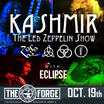 Kashmir (Led Zeppelin Tribute), Eclipse (Pink Floyd Tribute)