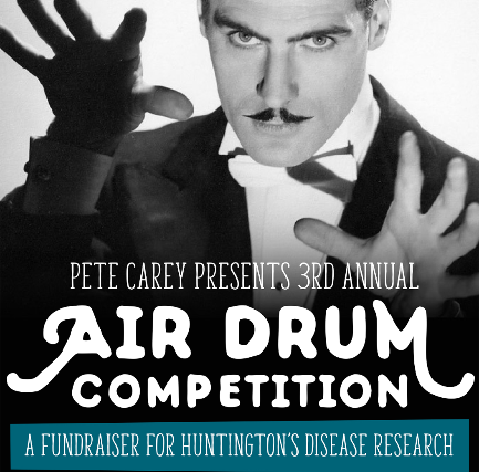 Air Drum Competition: a Fundraiser for Huntington's Disease