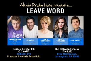 Leave Word ft. Taylor Tomlinson, Adam Ray, Alice Wetterlund, Jack Hackett, Jared Sandler, Eli Thomas, and more!