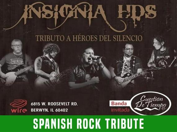 Insignia HDS  - Tributo a Heroes Del Silencio at Wire