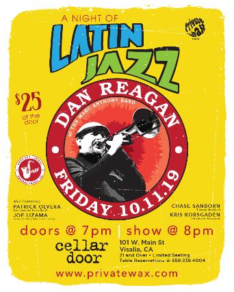 A Night of Latin Jazz featuring Dan Reagan