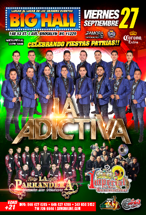 LA ADICTIVA - Celebrando fiestas patrias!!