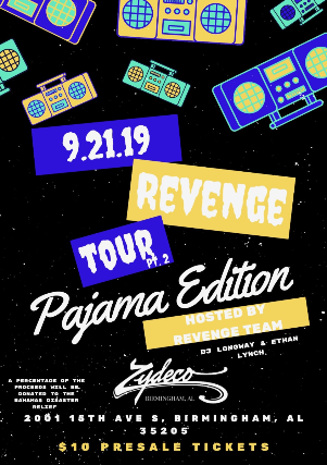 The Revenge Tour Pt.2: Pajama Edition
