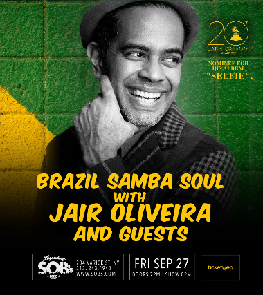 Ticket for Samba Circle with Jair Oliveira, Guests