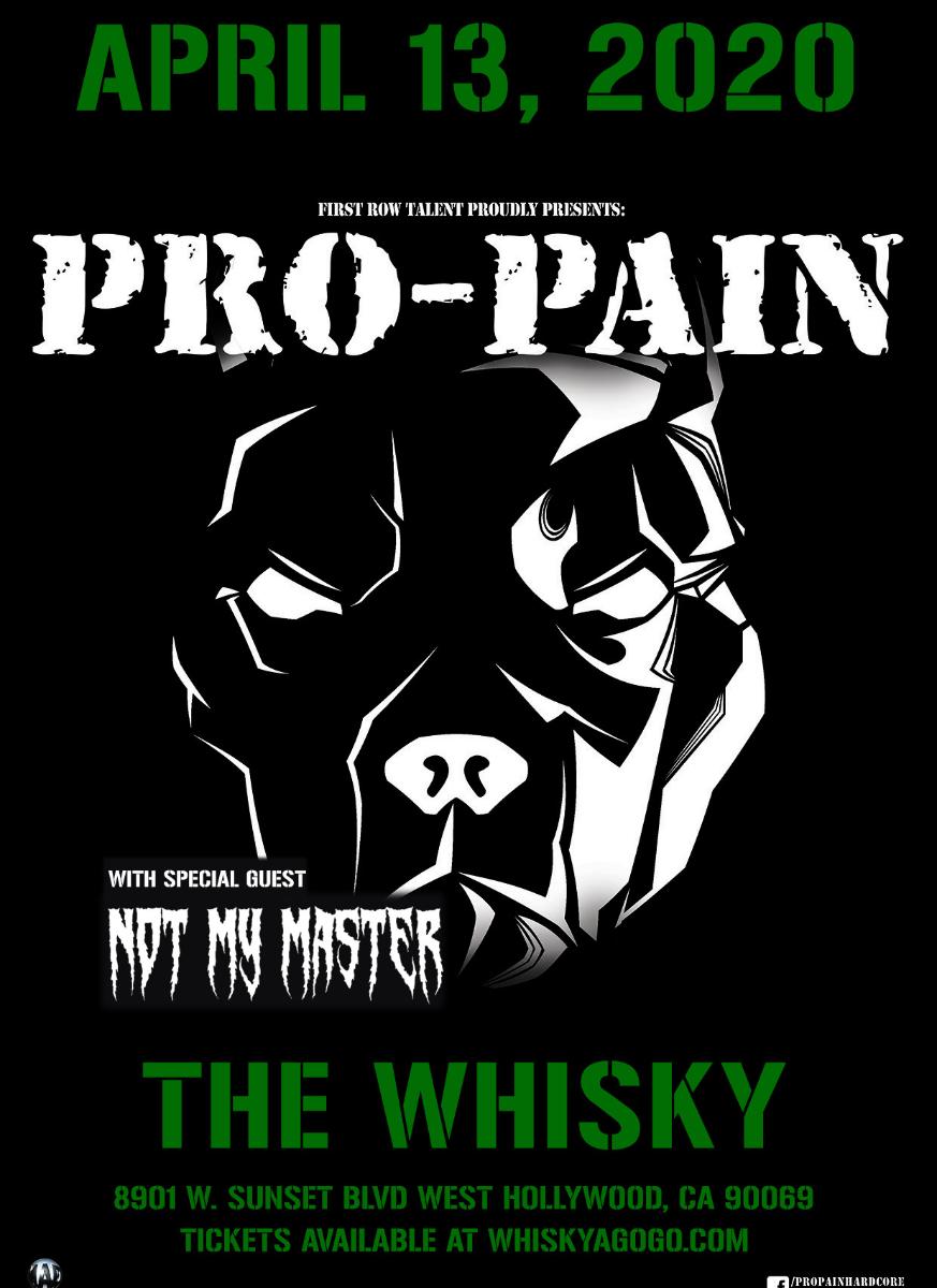 PRO-PAIN, Not My Master