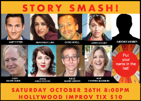 Story Smash The Storytelling Game Show! It's the funniest game show in LA! w/ Christine Blackburn, Danny Zuker, Amber Preston, Matt Ritter, Chris Wivell, Dawn Brodey, Smaranda Luna and more!