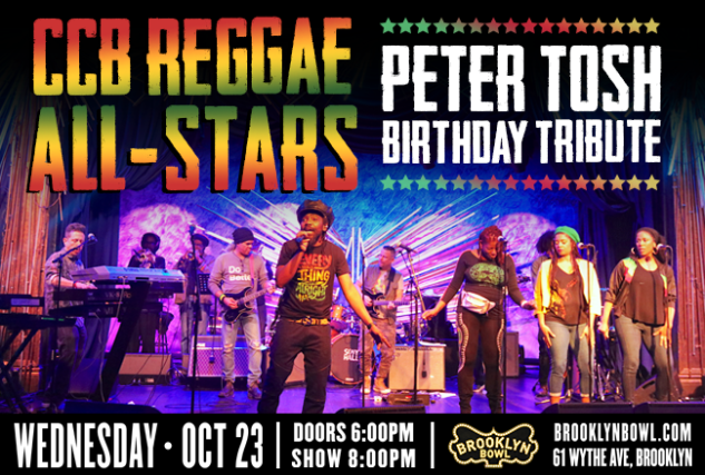 More Info for CCB Reggae All-Stars: Peter Tosh Birthday Tribute