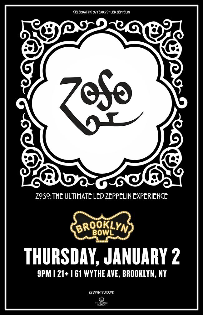 Zoso - The Ultimate Led Zeppelin Experience, Kiss The Sky - Jimi Hendrix Tribute