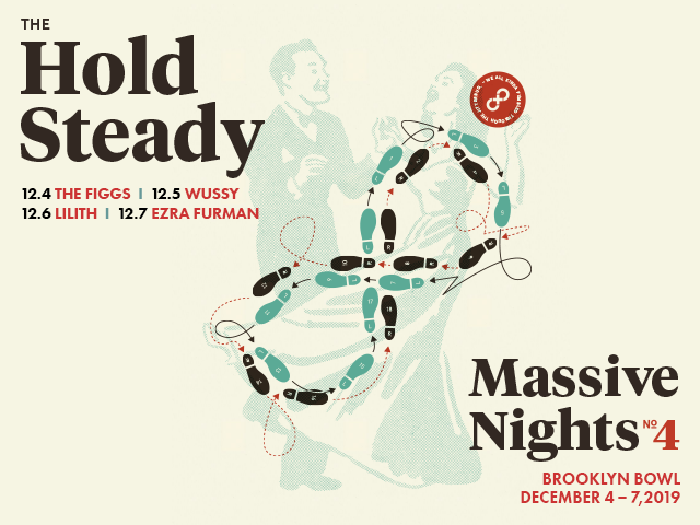 The Hold Steady 4 Night Pass!