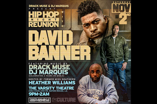 Drack Muse & Dj Marquis present Hip Hop Night Reunion